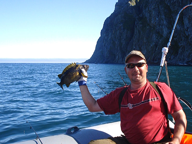 рыбалка морская на заливе